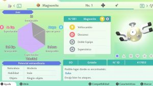 #105 MAGNEMITE ULTRA SHINY 6IVS COMPETITIVO