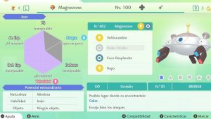 #107 MAGNEZONE ULTRA SHINY 6IVS COMPETITIVO