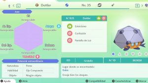 #11 DOTTLER ULTRA SHINY 6IVS COMPETITIVO