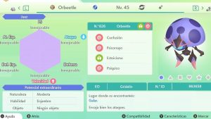 #12 ORBEETLE ULTRA SHINY 6IVS COMPETITIVO