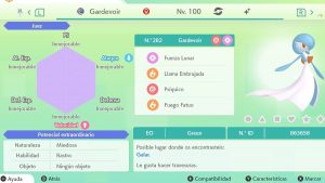 #122 GARDEVOIR ULTRA SHINY 6IVS COMPETITIVO