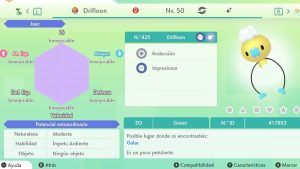 #124 DRIFLOON ULTRA SHINY 6IVS COMPETITIVO
