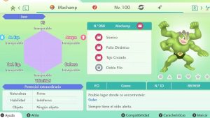 #140 MACHAMP ULTRA SHINY 6IVS COMPETITIVO
