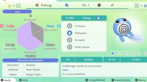 #142 POLIWAG ULTRA SHINY 6IVS COMPETITIVO