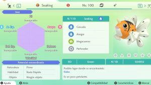#147 SEAKING ULTRA SHINY 6IVS COMPETITIVO
