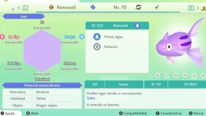 #148 REMORAID ULTRA SHINY 6IVS COMPETITIVO