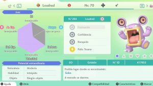 #149 LOUDRED ULTRA SHINY 6IVS COMPETITIVO