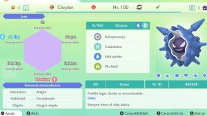 #151 CLOYSTER ULTRA SHINY 6IVS COMPETITIVO