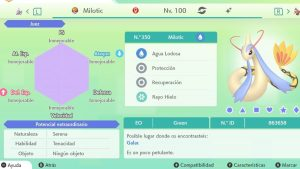 #153 MILOTIC ULTRA SHINY 6IVS COMPETITIVO
