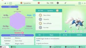 #158 LYCANROC CREPUSCULAR ULTRA SHINY 6IVS COMPETITIVO