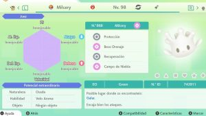 #185 MILCERY ULTRA SHINY 6IVS COMPETITIVO