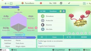 #190 FERROTHORN ULTRA SHINY 6IVS COMPETITIVO