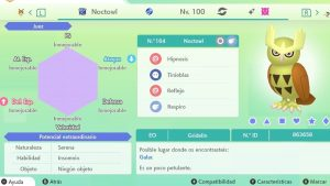 #20 NOCTOWL ULTRA SHINY 6IVS COMPETITIVO