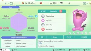 #217 WOBUFFET ULTRA SHINY 6IVS COMPETITIVO
