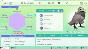 #23 CORVIKNIGHT ULTRA SHINY 6IVS COMPETITIVO