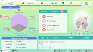 #242 HATTREM ULTRA SHINY 6IVS COMPETITIVO