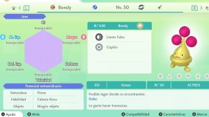 #252 BONSLY ULTRA SHINY 6IVS COMPETITIVO