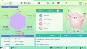#256 CLEFABLE ULTRA SHINY 6IVS COMPETITIVO