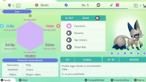 #29 NICKIT ULTRA SHINY 6IVS COMPETITIVO