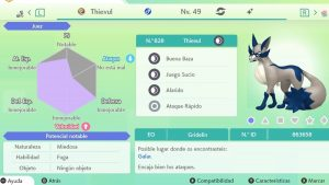 #30 THIEVUL ULTRA SHINY 6IVS COMPETITIVO