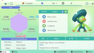 #37 LOMBRE ULTRA SHINY 6IVS COMPETITIVO