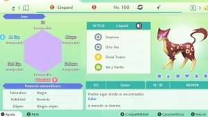#45 LIEPARD ULTRA SHINY 6IVS COMPETITIVO
