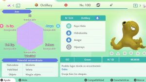#45 OCTILLERY ULTRA SHINY 6IVS COMPETITIVO