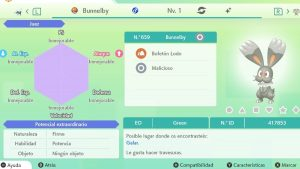 #48 BUNNELBY ULTRA SHINY 6IVS COMPETITIVO
