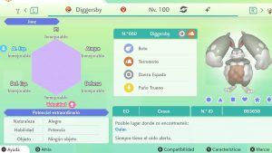 #49 DIGGERSBY ULTRA SHINY 6IVS COMPETITIVO