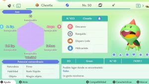 #56 CHEWTLE ULTRA SHINY 6IVS COMPETITIVO