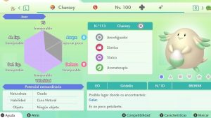 #7 CHANSEY ULTRA SHINY 6IVS COMPETITIVO