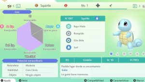 #71 SQUIRTLE ULTRA SHINY 6IVS COMPETITIVO