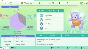 #72 WARTORTLE ULTRA SHINY 6IVS COMPETITIVO