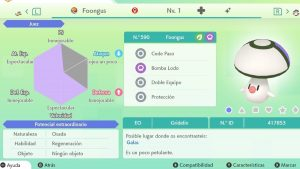 #77 FOONGUS ULTRA SHINY 6IVS COMPETITIVO