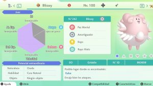 #8 BLISSEY ULTRA SHINY 6IVS COMPETITIVO