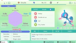 #8 DRIZZILE ULTRA SHINY 6IVS COMPETITIVO