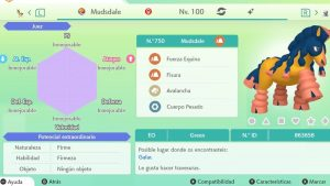 #85 MUDSDALE ULTRA SHINY 6IVS COMPETITIVO
