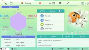 #95 SEAKING ULTRA SHINY 6IVS COMPETITIVO