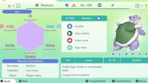 BLASTOISE GIGAMAX ULTRA SHINY 6IVS COMPETITIVO