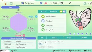 BUTTERFREE GIGAMAX ULTRA SHINY 6IVS COMPETITIVO