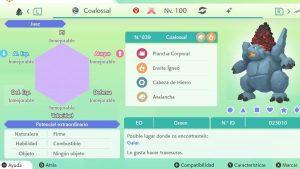 COALOSSAL GIGAMAX ULTRA SHINY 6IVS COMPETITIVO