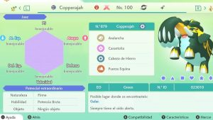 COPPERAJAH GIGAMAX ULTRA SHINY 6IVS COMPETITIVO