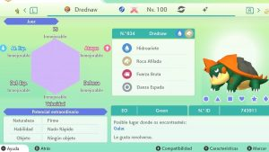 DREDNAW GIGAMAX ULTRA SHINY 6IVS COMPETITIVO