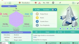 DURALUDON GIGAMAX ULTRA SHINY 6IVS COMPETITIVO