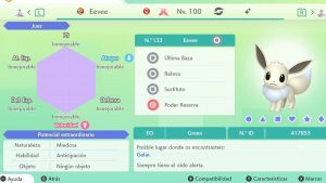 EEVEE GIGAMAX ULTRA SHINY 6IVS COMPETITIVO