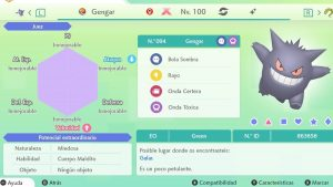 GENGAR GIGAMAX ULTRA SHINY 6IVS COMPETITIVO