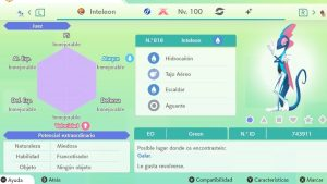 INTELEON GIGAMAX ULTRA SHINY 6IVS COMPETITIVO