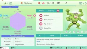 MACHAMP GIGAMAX ULTRA SHINY 6IVS COMPETITIVO