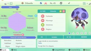 ORBEETLE GIGAMAX ULTRA SHINY 6IVS COMPETITIVO