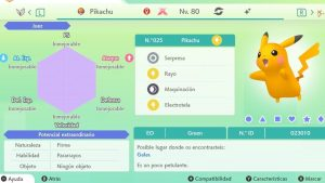PIKACHU GIGAMAX ULTRA SHINY 6IVS COMPETITIVO